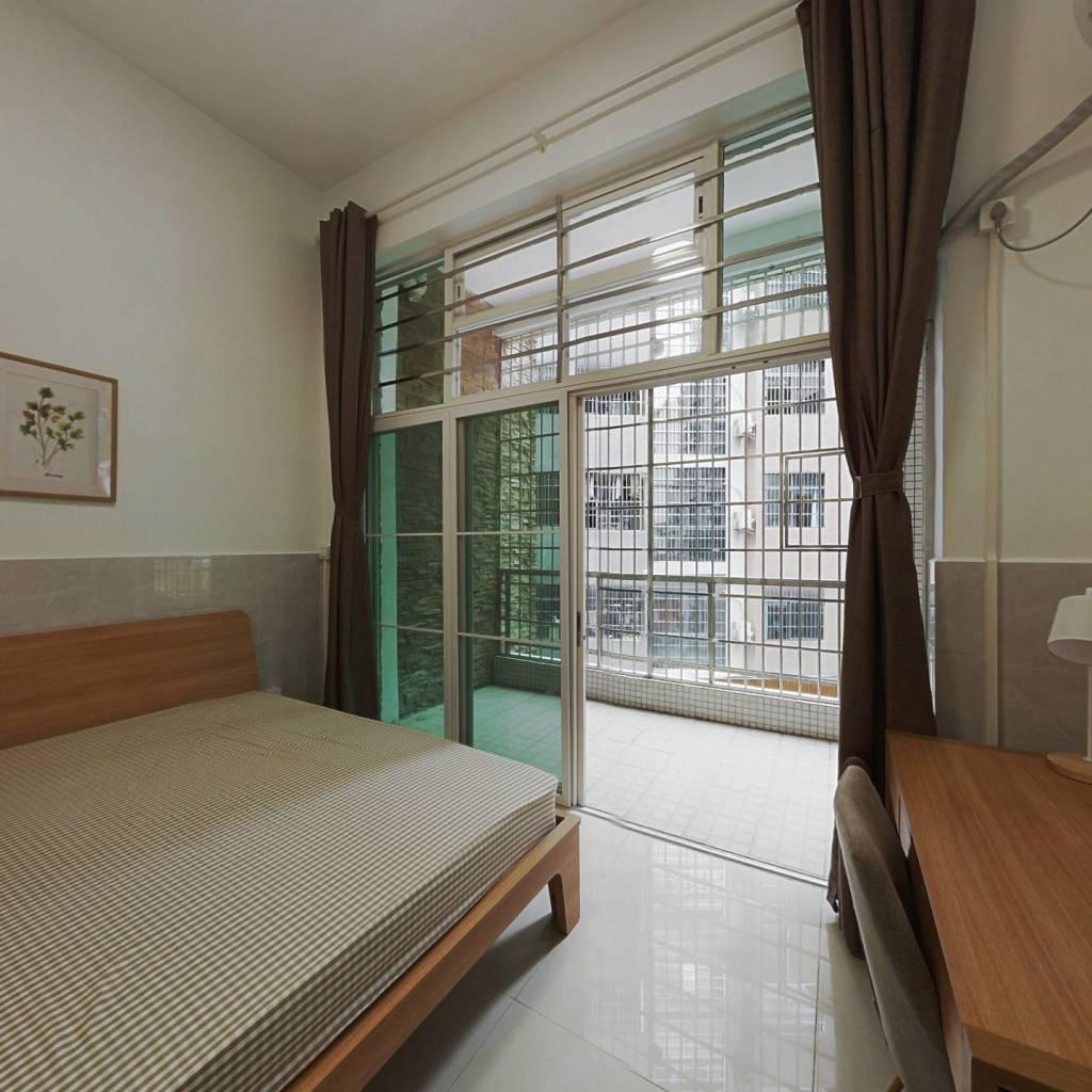 合租·圣地天河星荟 3室1厅 南卧室图