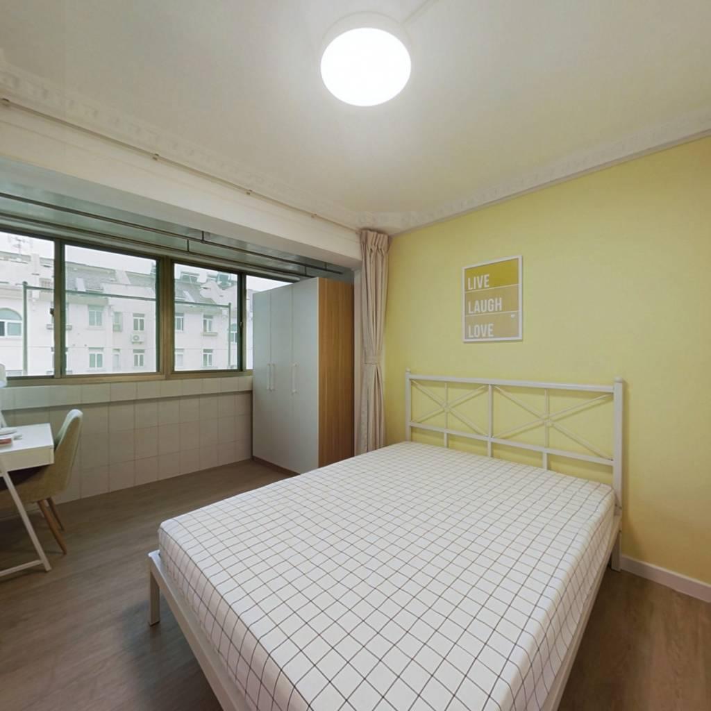 合租·四方新村二村 4室1厅 北卧室图
