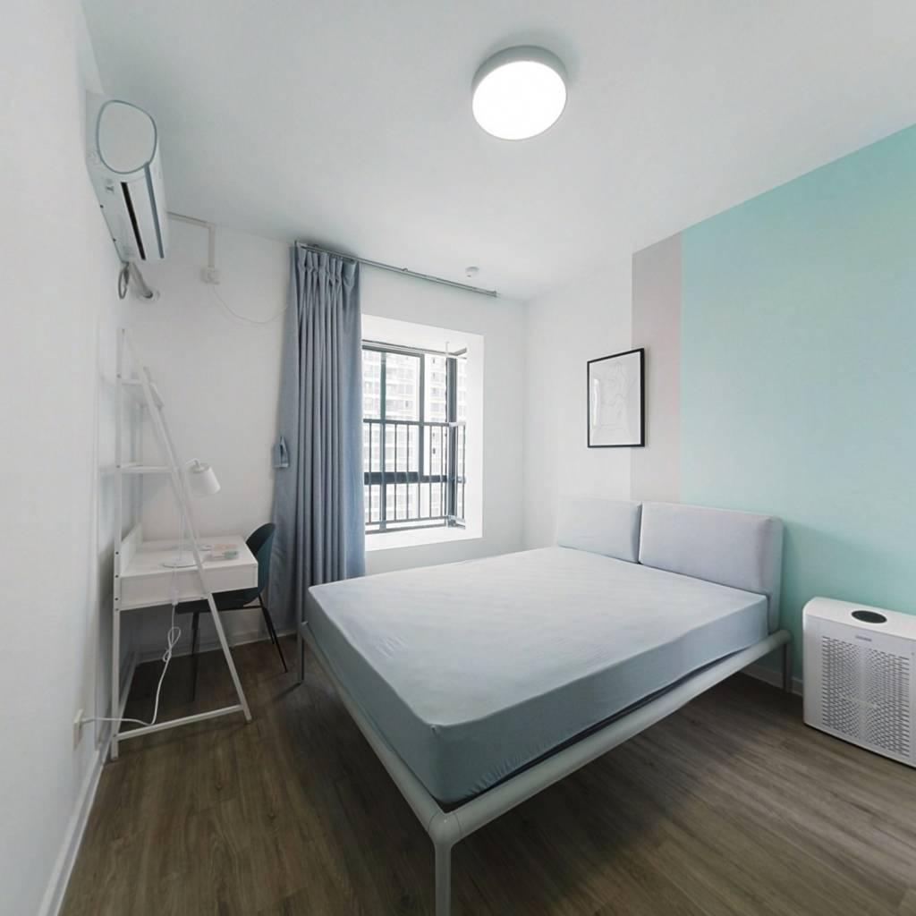合租·钱江一苑 4室1厅 西北卧室图