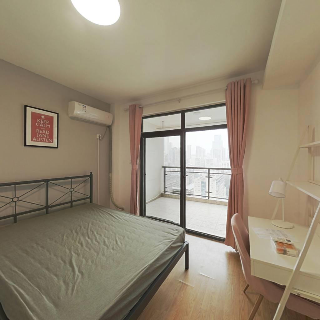 合租·上行汇锦 3室1厅 西卧室图