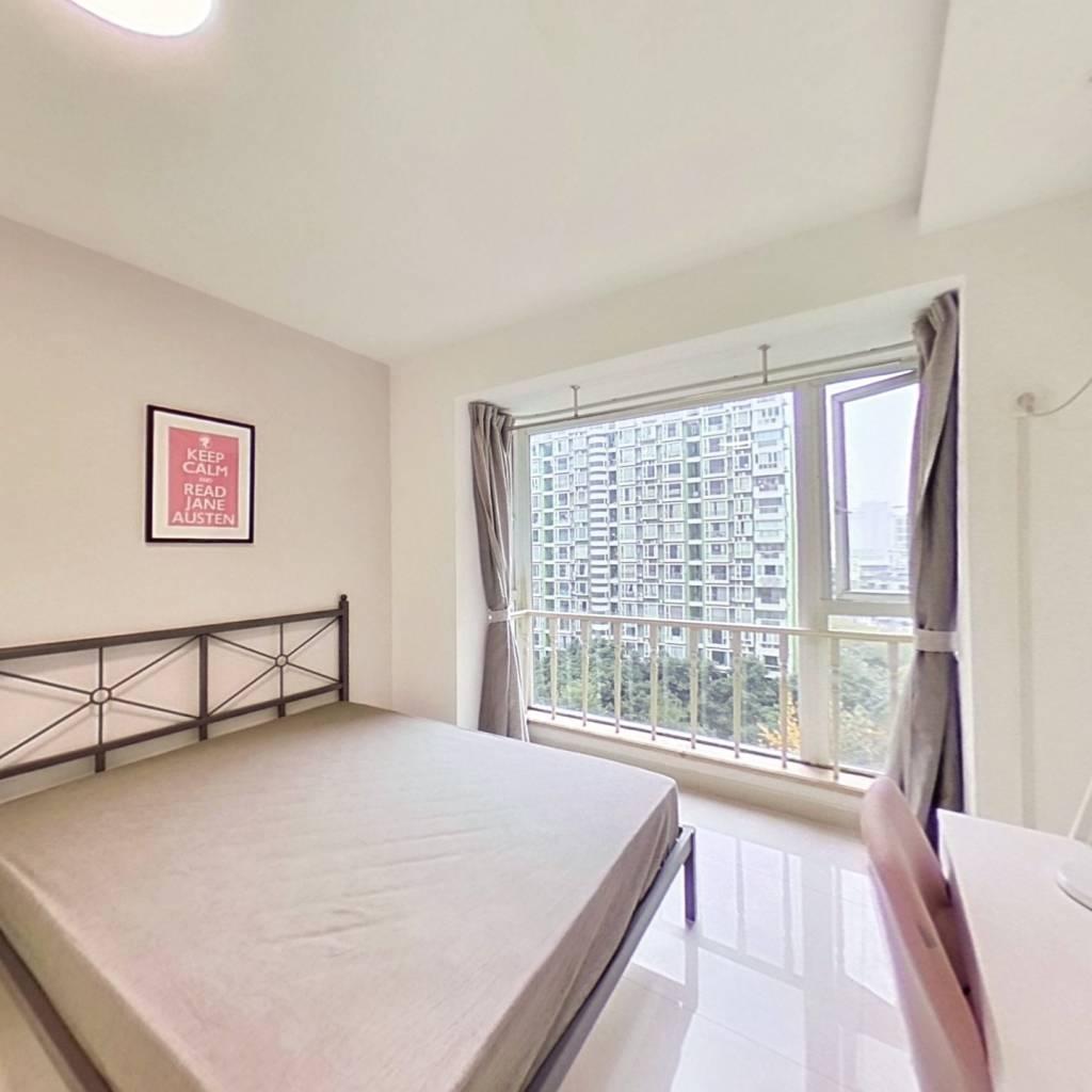 合租·长富新城 3室1厅 西卧室图