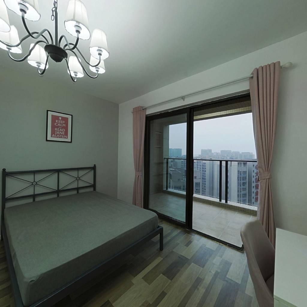 合租·金沙鹭岛四期 4室1厅 南卧室图