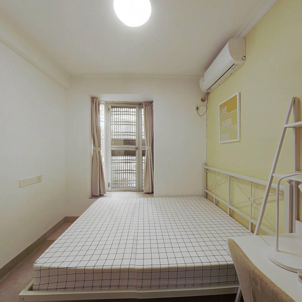 合租·华景新城怡华台 3室1厅 北卧室图