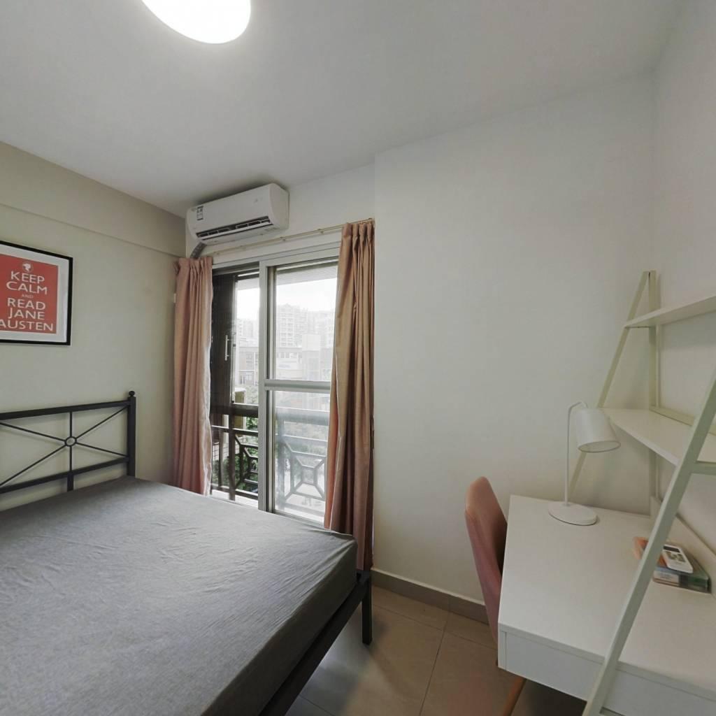 合租·汇侨新城北区 4室1厅 东卧室图