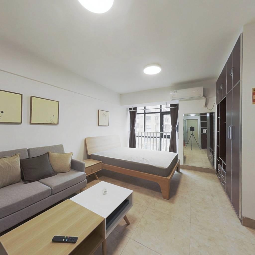 整租·时代印象 1室1厅 东卧室图