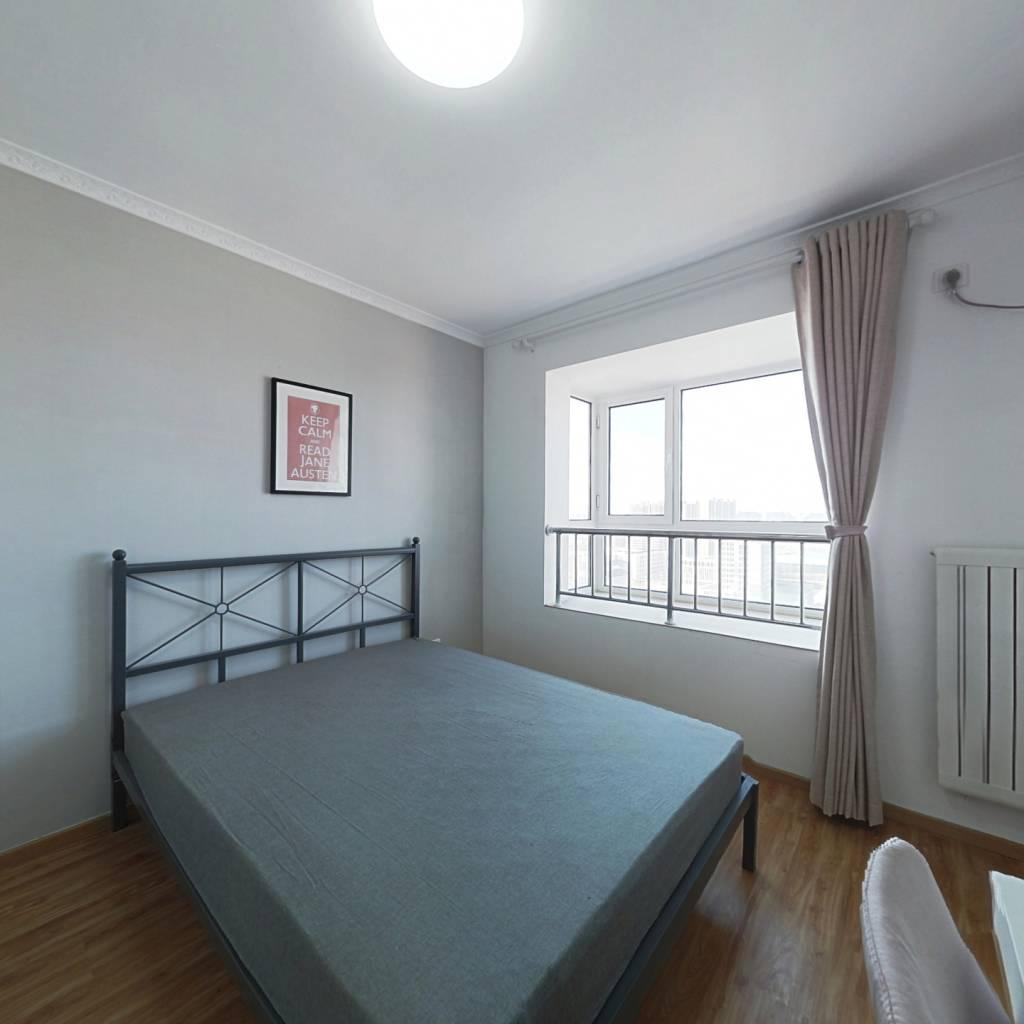 合租·新建村 2室1厅 西卧室图