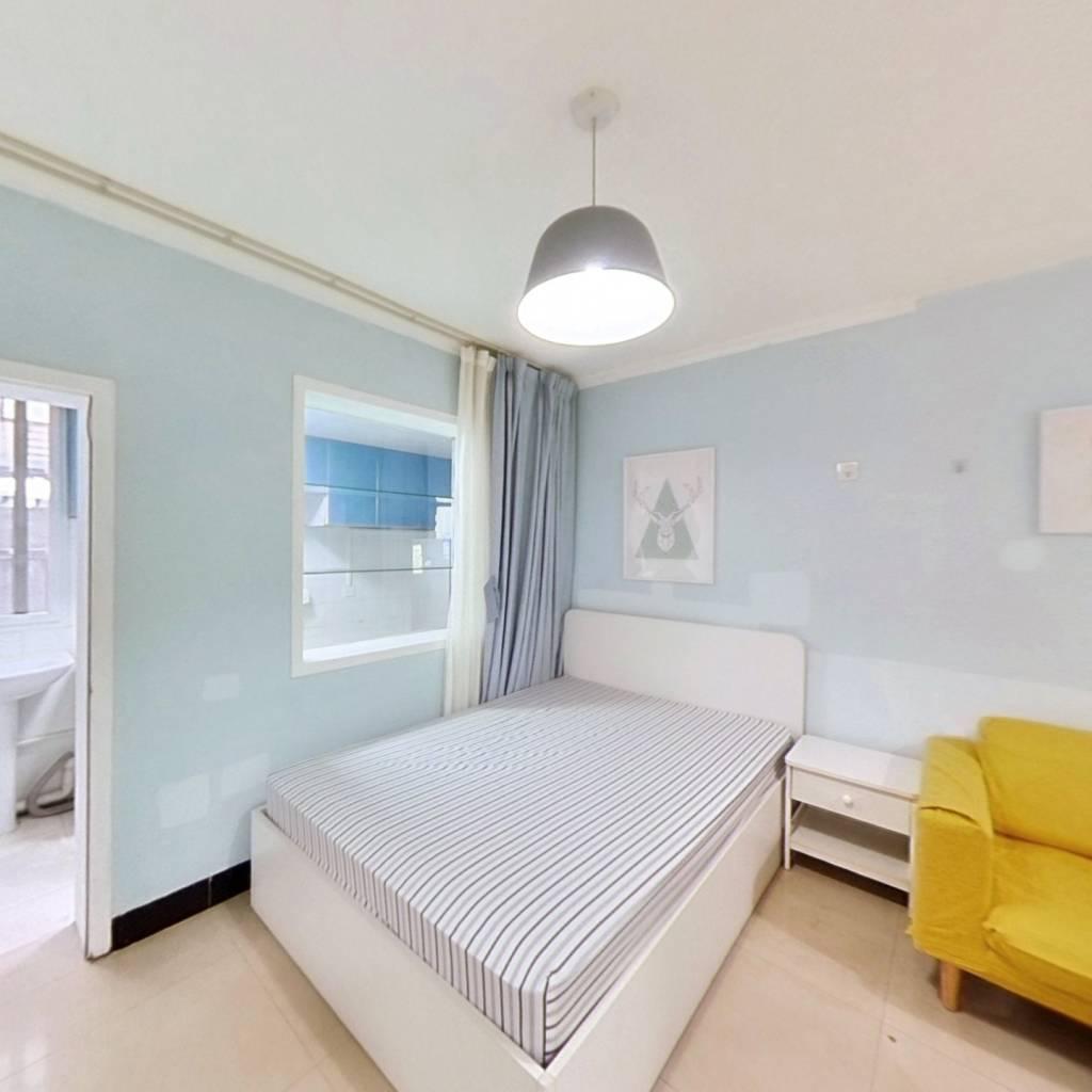 整租·大学路新村 2室1厅 南卧室图