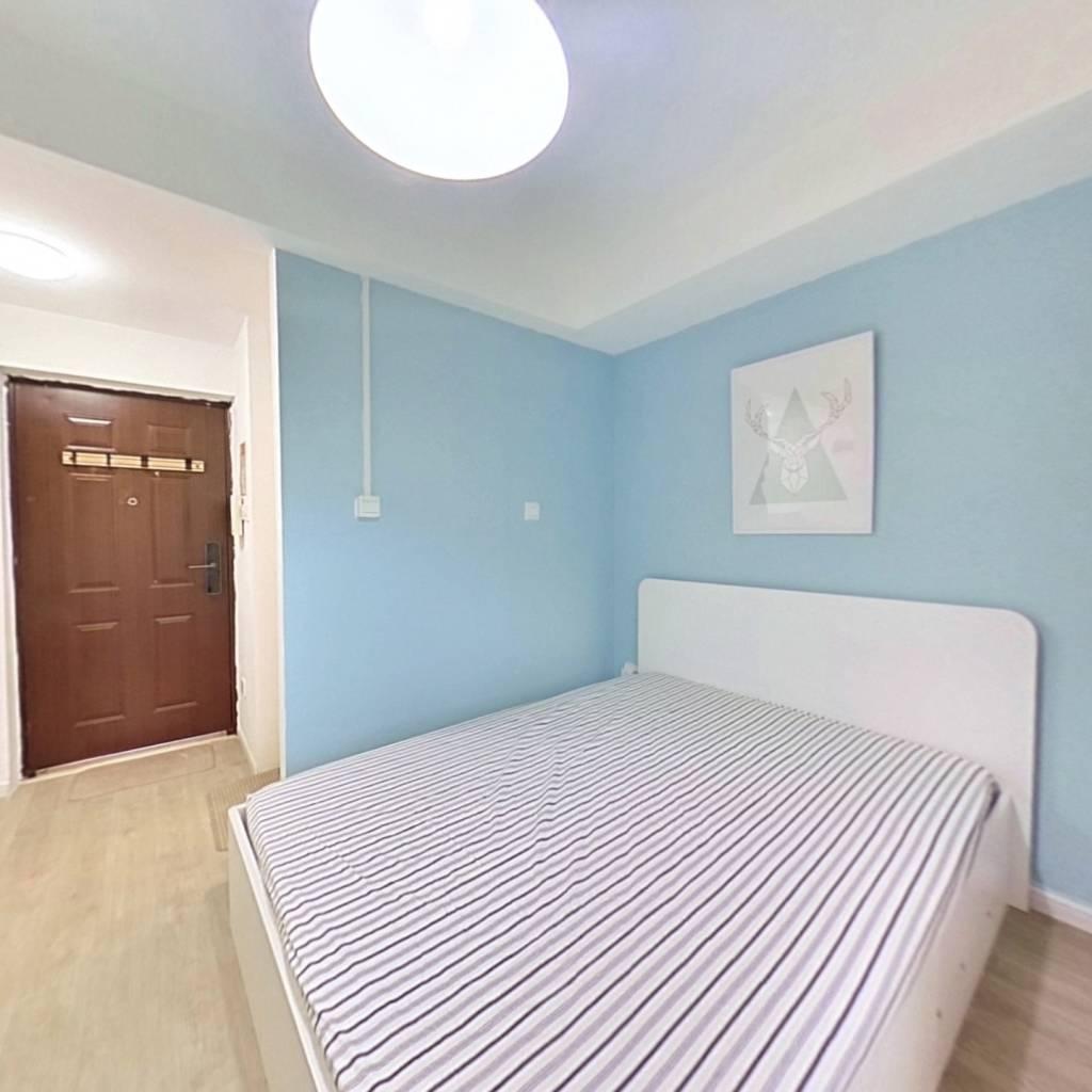 整租·康桥圣菲 1室1厅 北卧室图