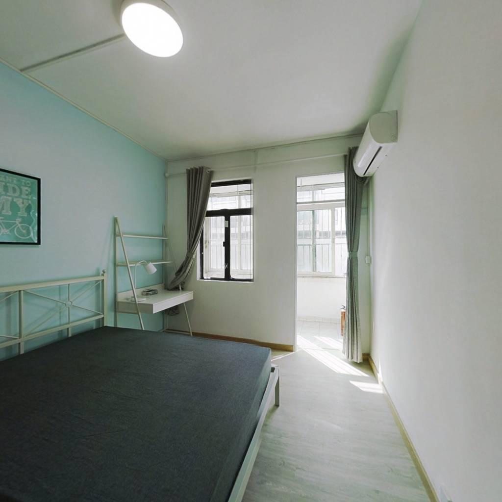 合租·园岭新村 4室1厅 南卧室图