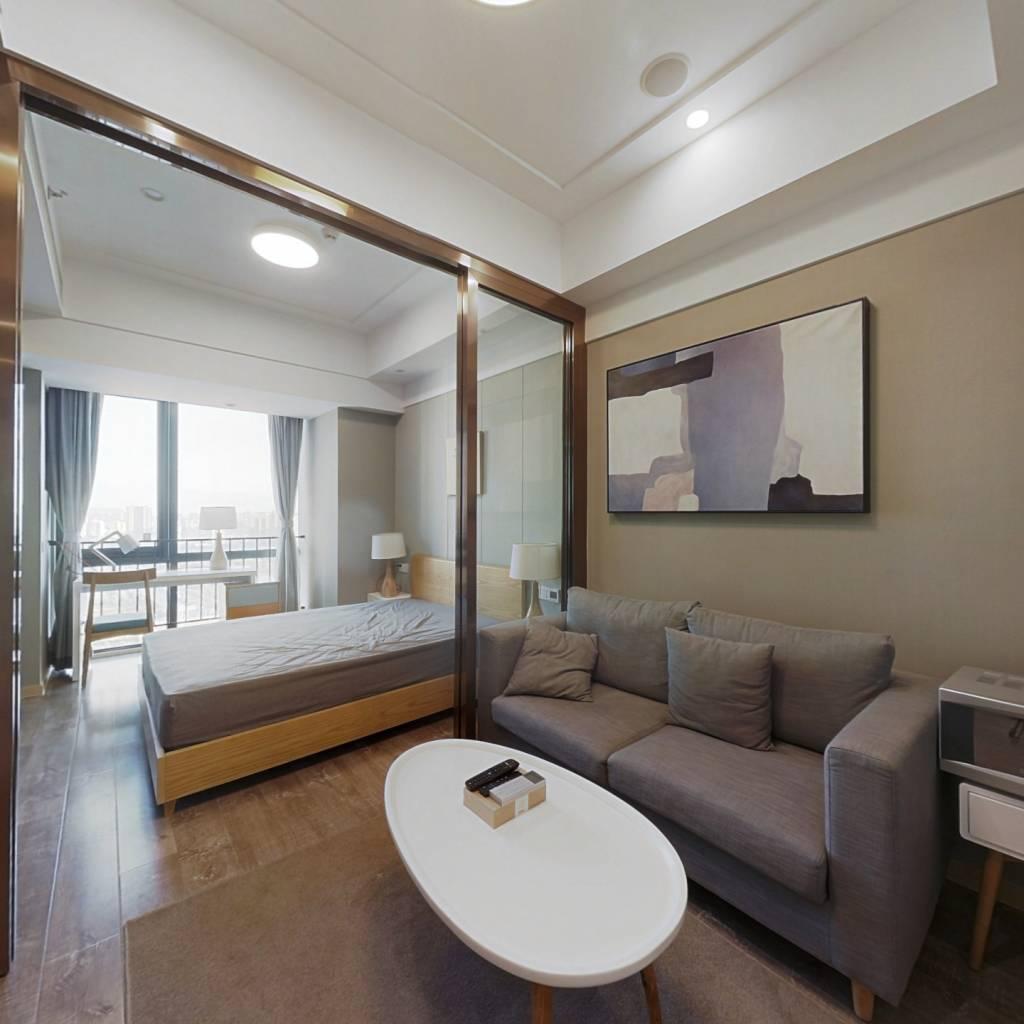 整租·复地宴南都 1室1厅 南卧室图