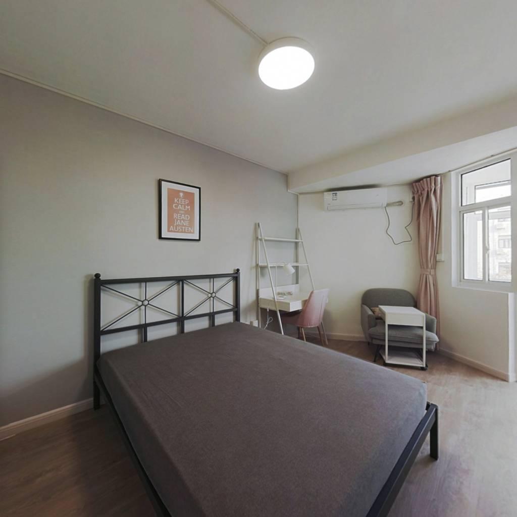 合租·莫愁路 3室1厅 西卧室图