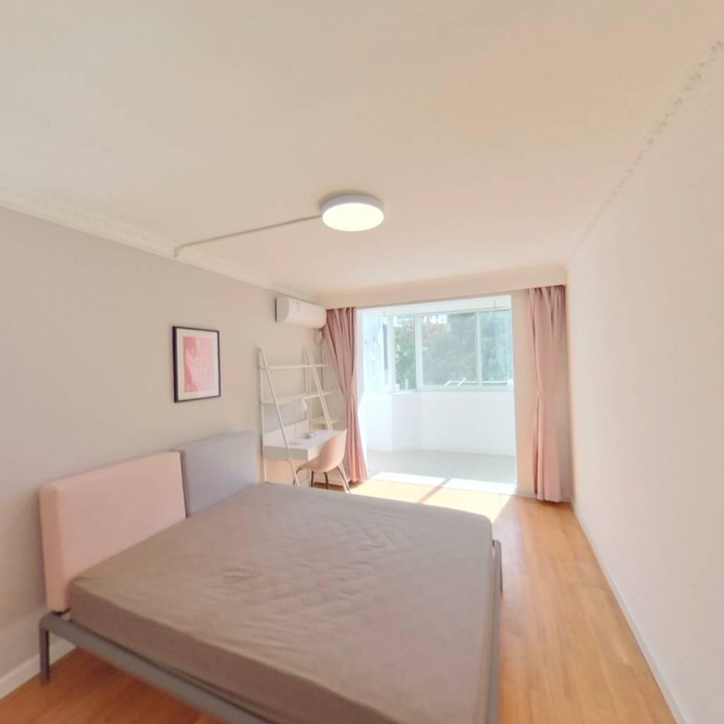 合租·绿茵苑(浦东) 3室1厅 南卧室图