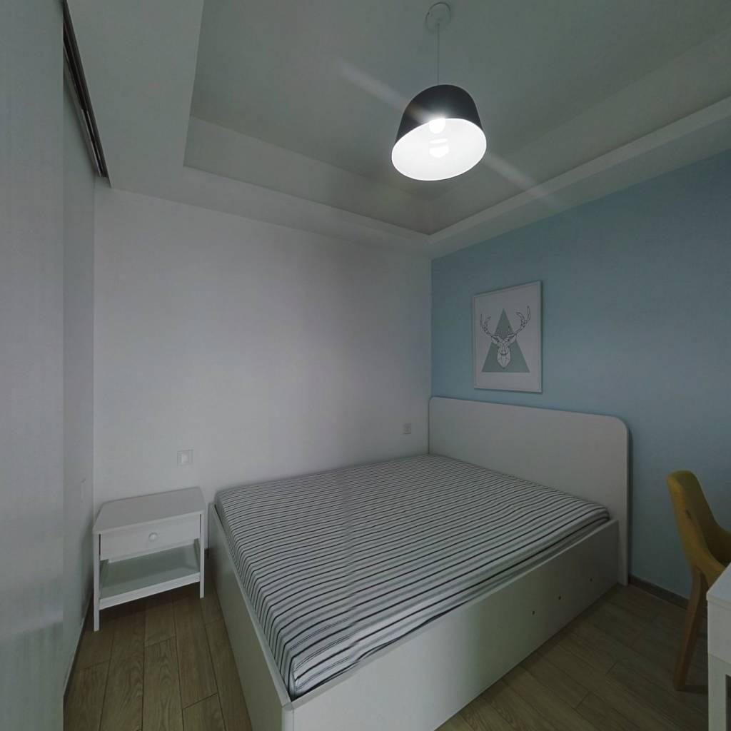 整租·中商万豪 2室1厅 东南卧室图