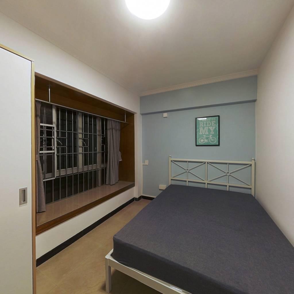 合租·汇侨新城北区 3室1厅 西北卧室图