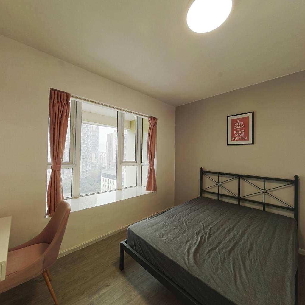 合租·首创国际城二期 4室1厅 南卧室图