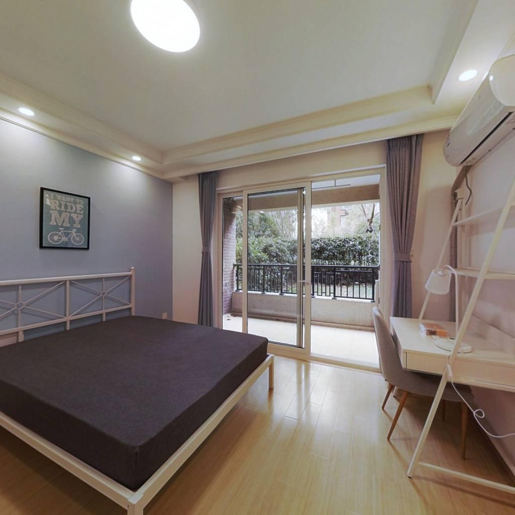 合租·金地艺境东区 4室1厅 南卧室图