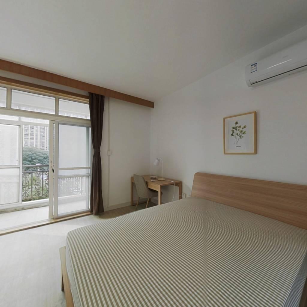 合租·航天花园 4室1厅 北卧室图