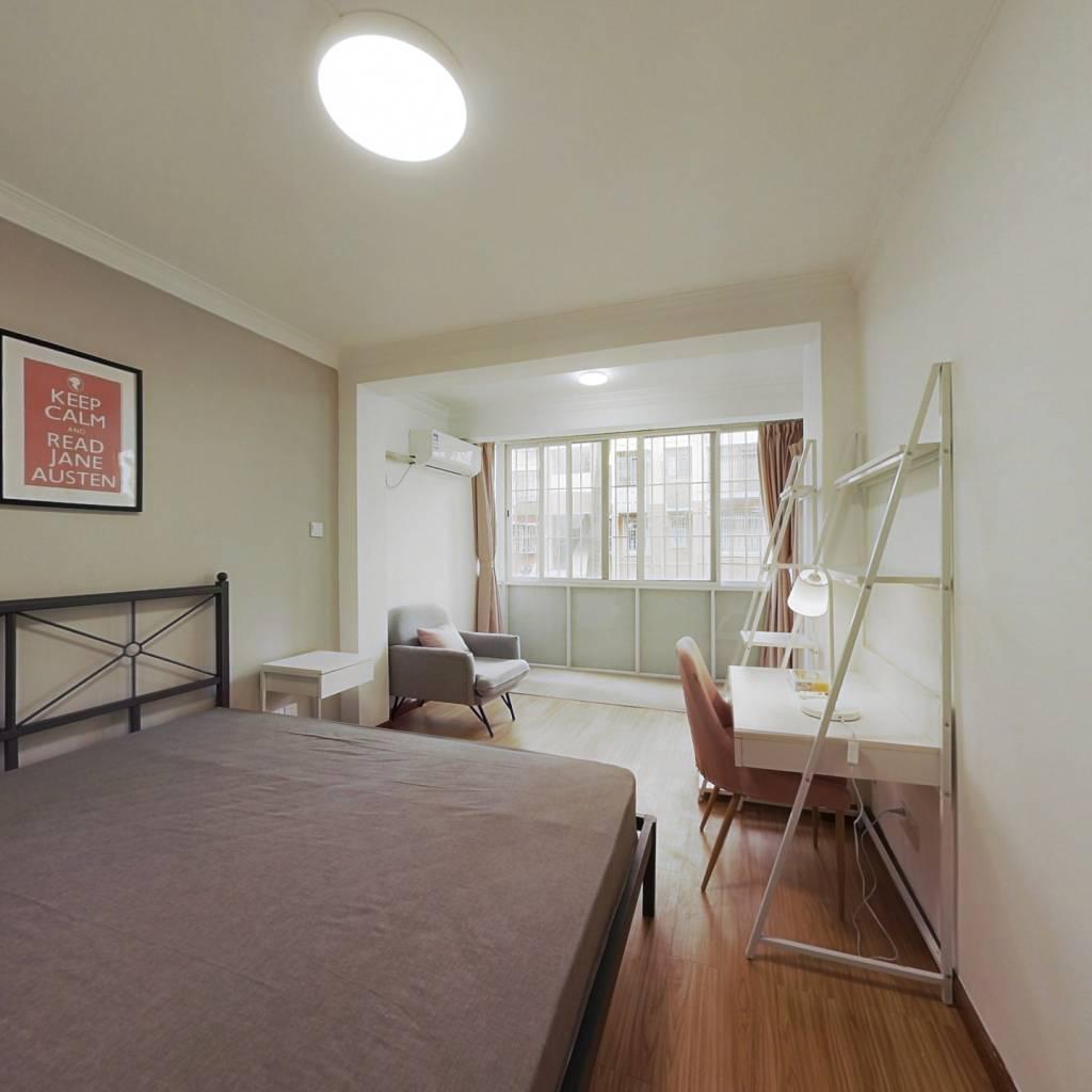 合租·爱榕园 3室1厅 北卧室图