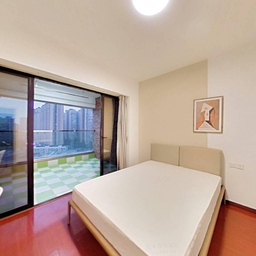 合租·中德英伦世邦J区 4室1厅 北卧室图