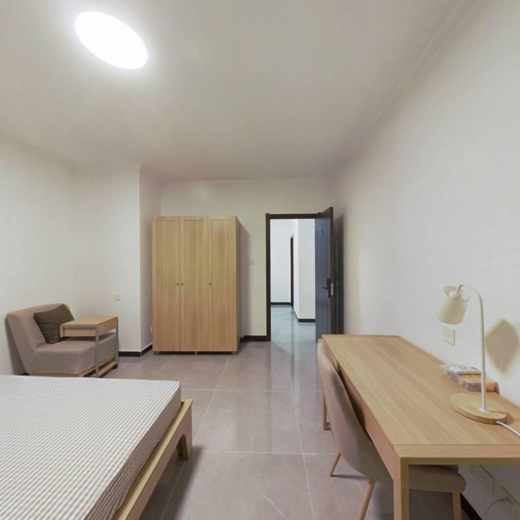 合租·金融街融汇 4室1厅 南卧室图