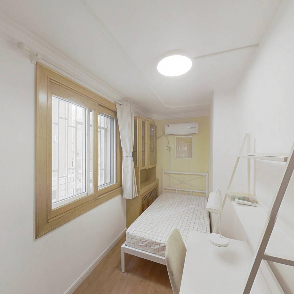 合租·金合园 4室1厅 北卧室图