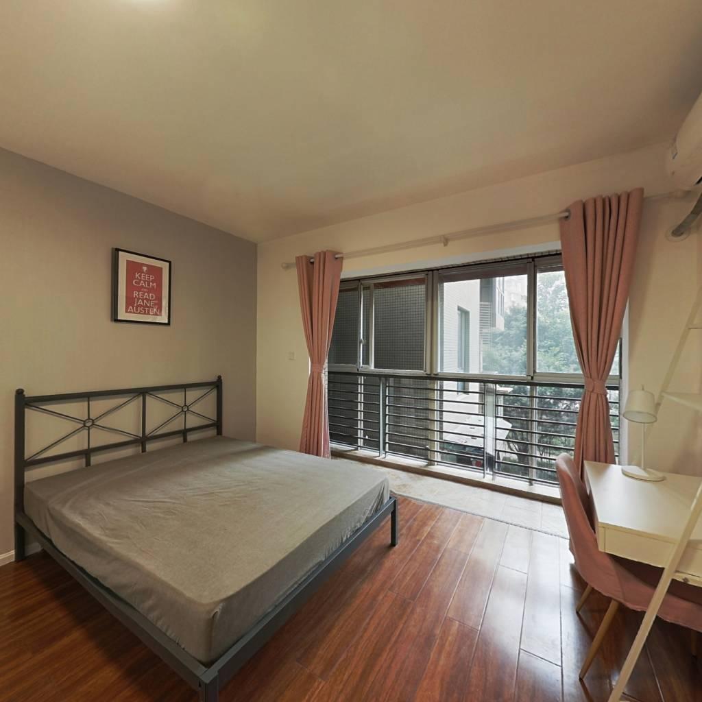 合租·北回归线一期 4室1厅 北卧室图