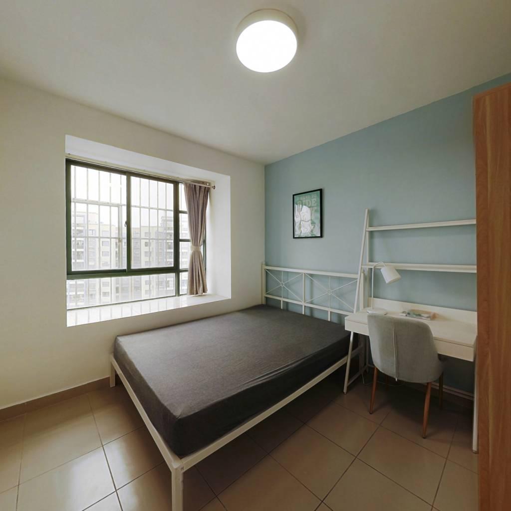 合租·金沙洲新社区一区 4室1厅 北卧室图