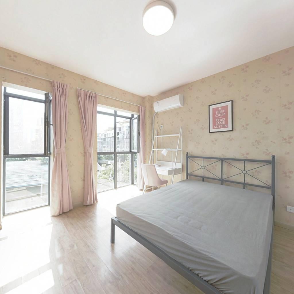 合租·首创爱这城三期 3室1厅 西卧室图