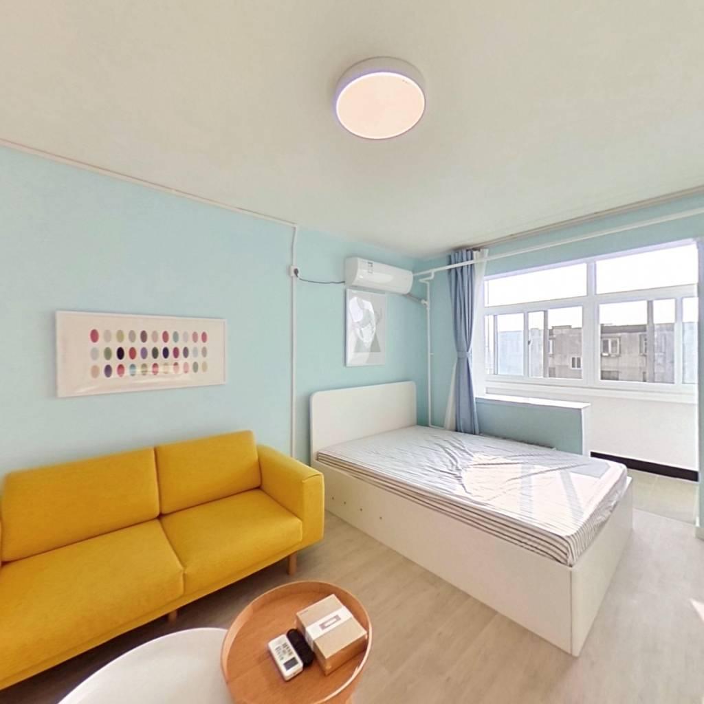 整租·建材城东二里 1室1厅 南卧室图