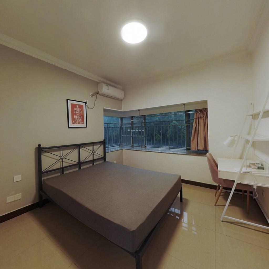 合租·广州雅居乐花园浅山小筑 4室1厅 南卧室图