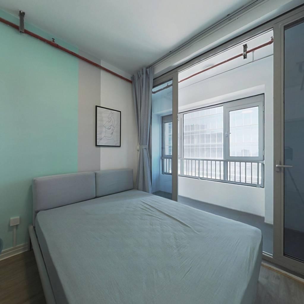 合租·奥克斯时代未来之城 5室1厅 北卧室图
