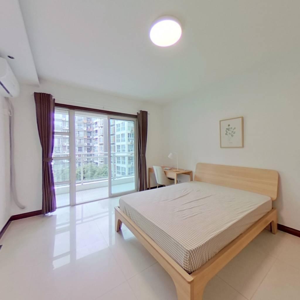 合租·康郡 4室1厅 西卧室图