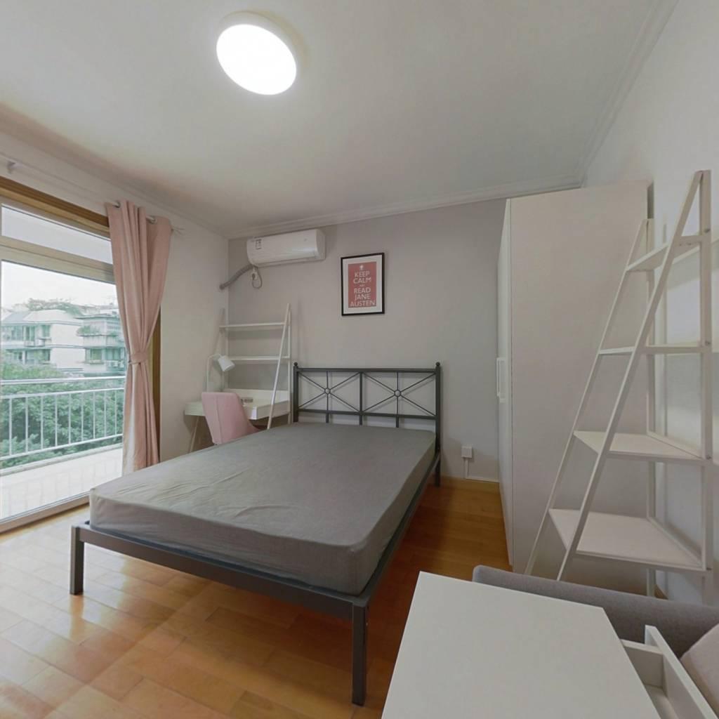 合租·丽景湾 4室1厅 西卧室图