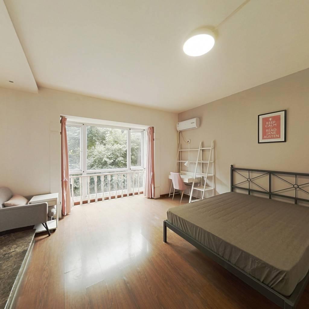 合租·华阳滨河花园 4室1厅 南卧室图