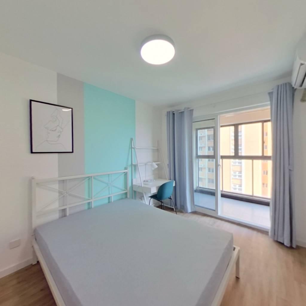 合租·盛和家园南区 4室1厅 北卧室图