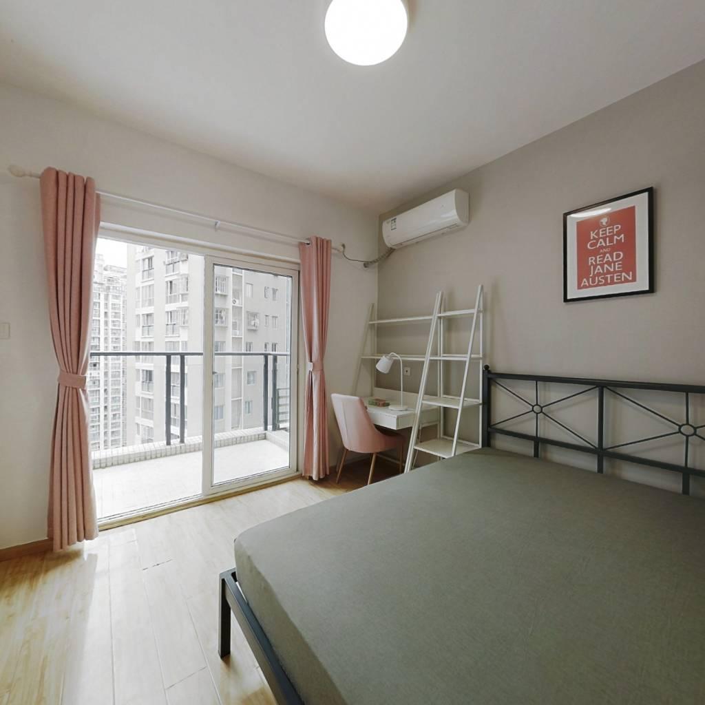 合租·东湖国际 4室1厅 西卧室图