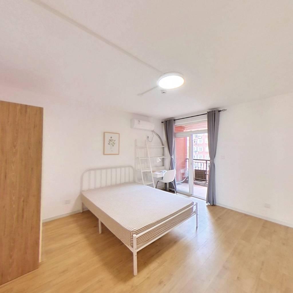 合租·清雅苑 4室2厅 南卧室图