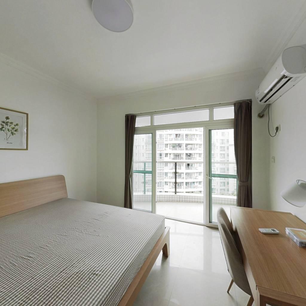 合租·自在城市花园一二期 4室1厅 东北卧室图