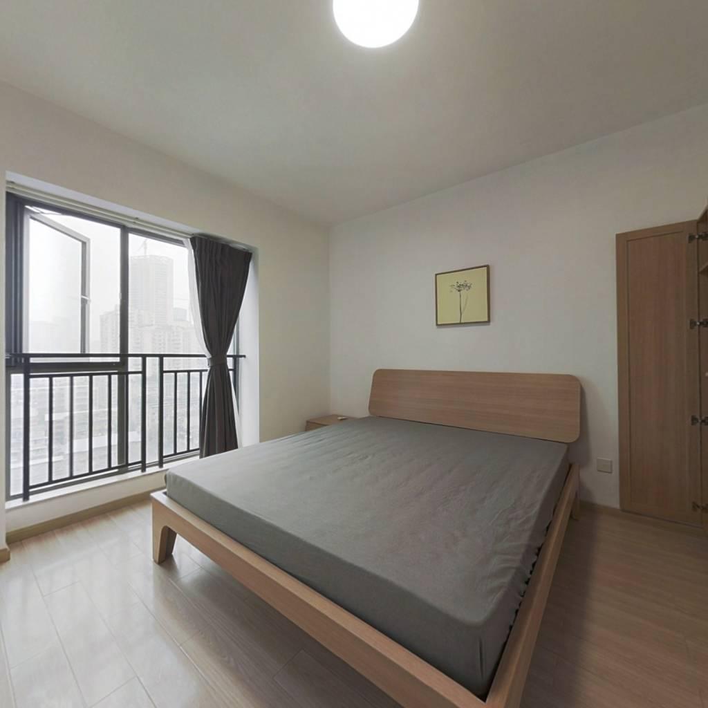 整租·釜山国际城市公馆 2室1厅 北卧室图