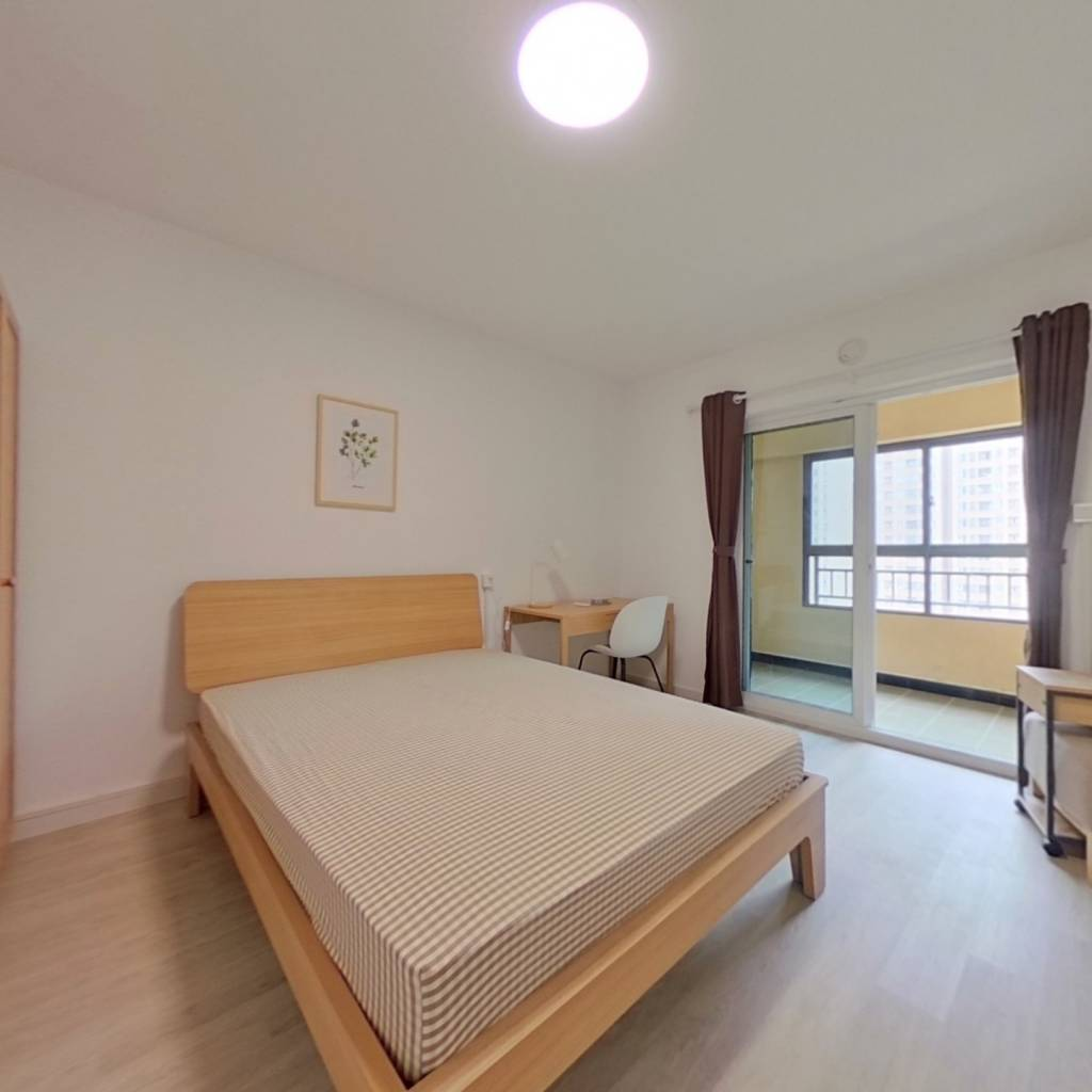 合租·朗诗里程 4室1厅 南卧室图
