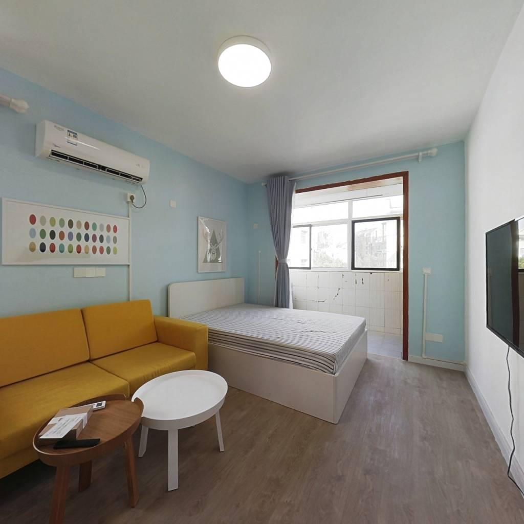整租·钟阜路小区 2室1厅 南北卧室图