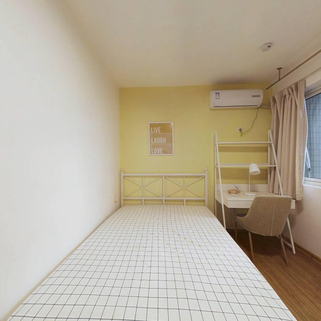合租·现代景苑 3室1厅 南卧室图