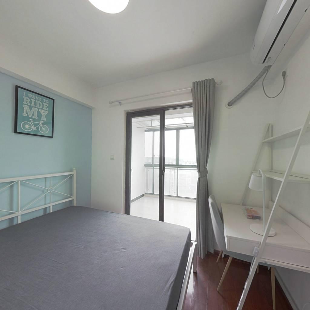 合租·九峰国际 4室1厅 东卧室图