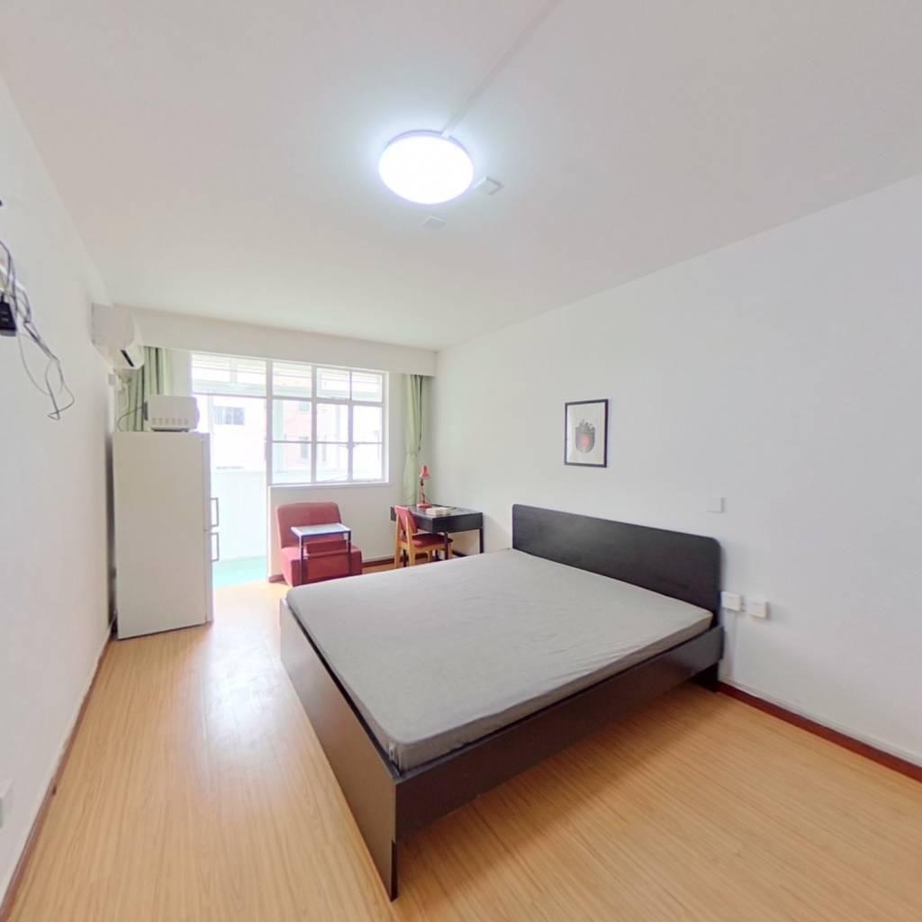 整租·民心小区 1室1厅 南卧室图