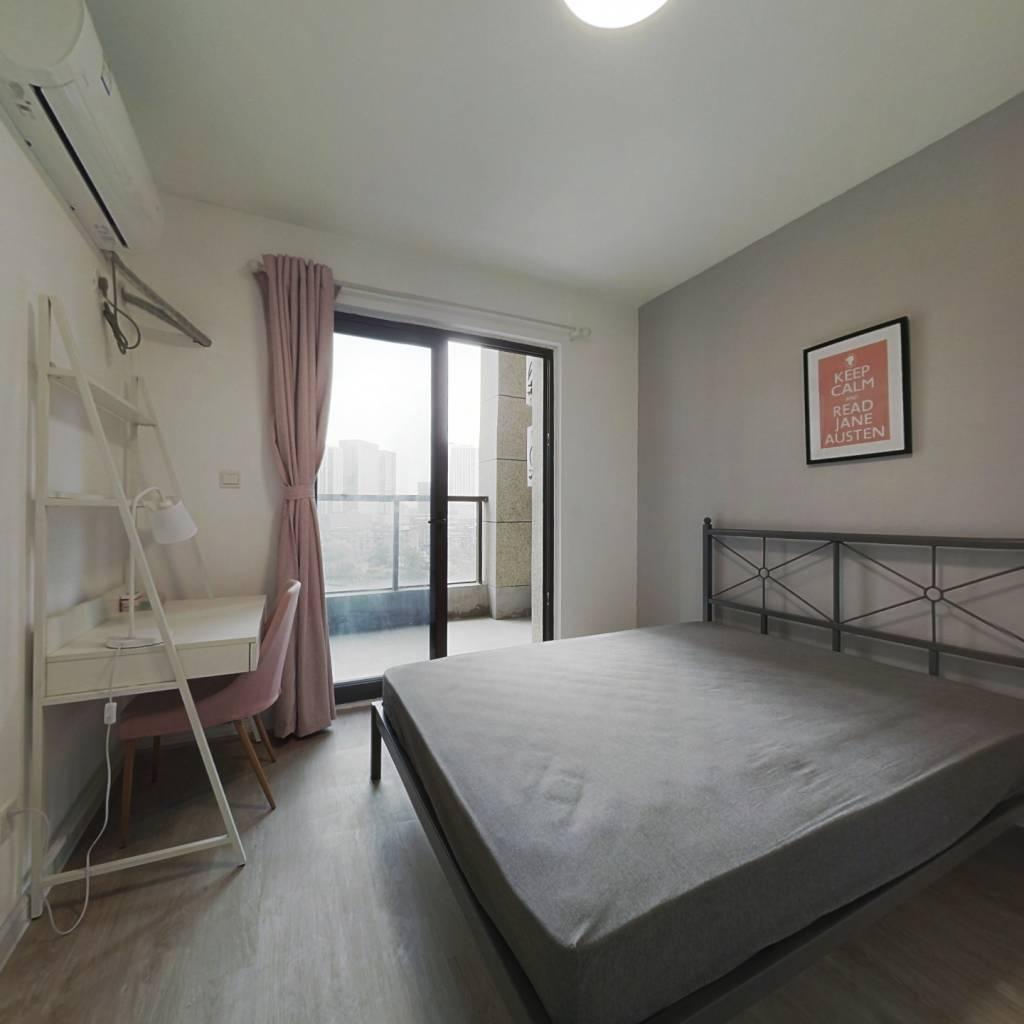 合租·理想银泰城 4室1厅 南卧室图