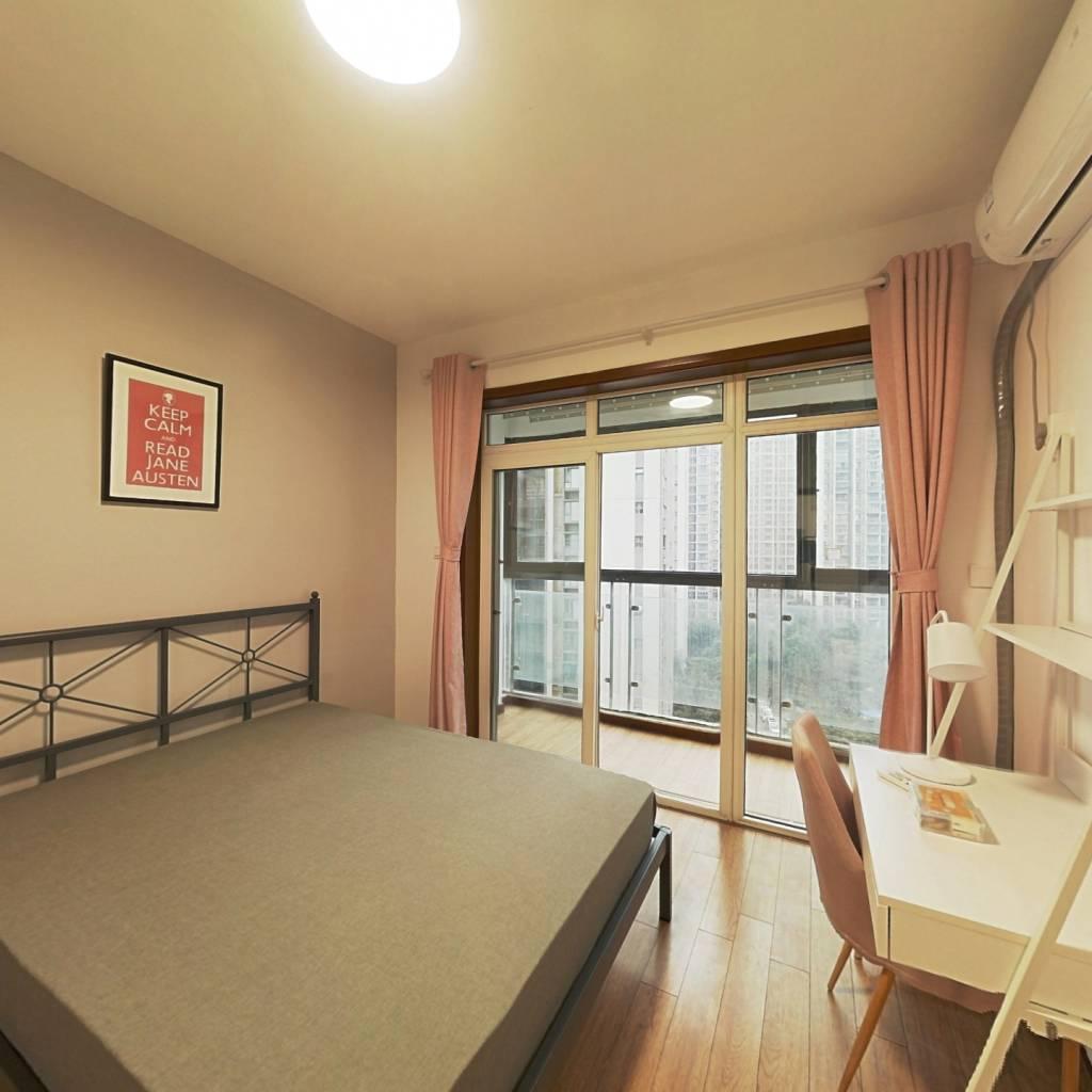 合租·锦绣东方一期 3室1厅 北卧室图