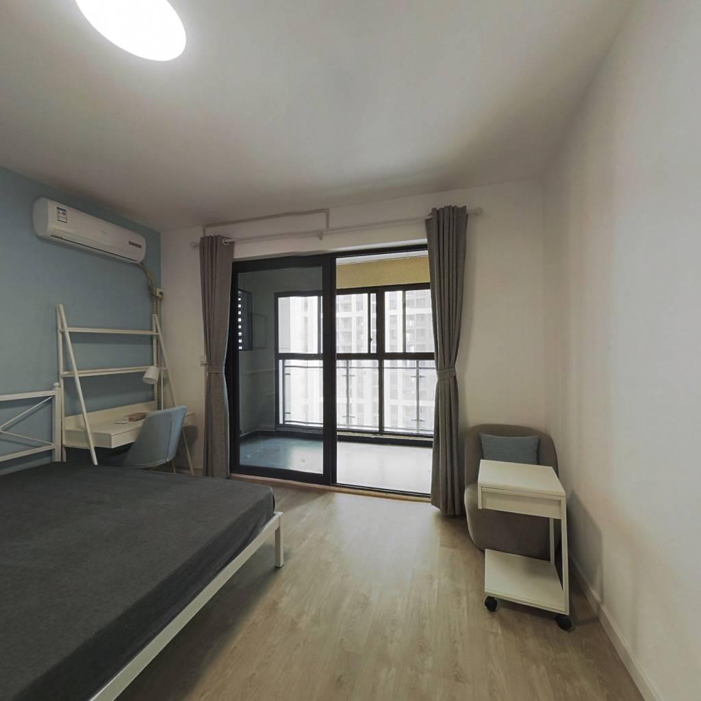 合租·电建地产盛世江城 4室1厅 南卧室图