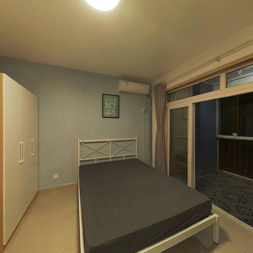 合租·世纪朝阳 3室1厅 西南卧室图