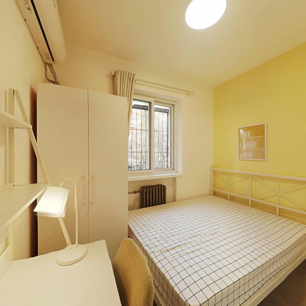 合租·学院南路60号院 3室1厅 北卧室图