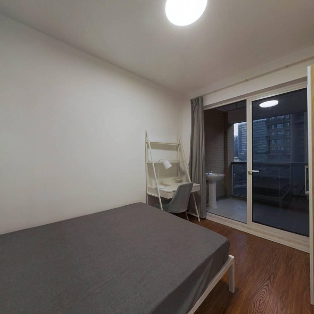 合租·万家星城 4室1厅 北卧室图